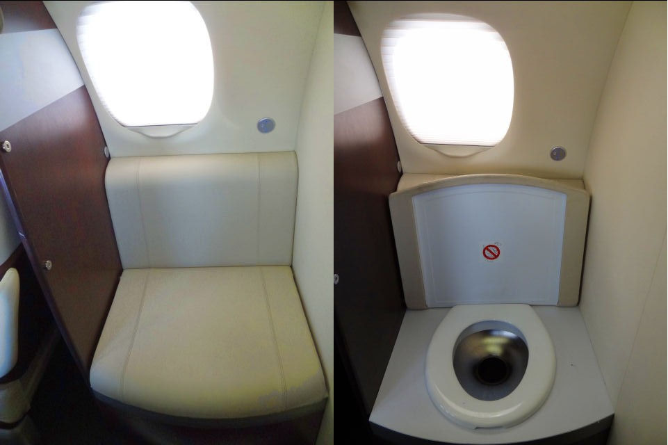 What Airplane Toilets Do With Your Waste Videos