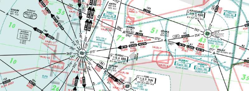 RNAV and RNP in India – Airways | The Flying Engineer