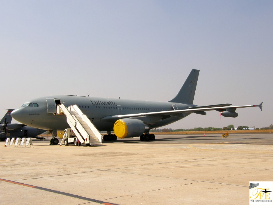 A Luftwaffe Mid Air Refueller based on the A310