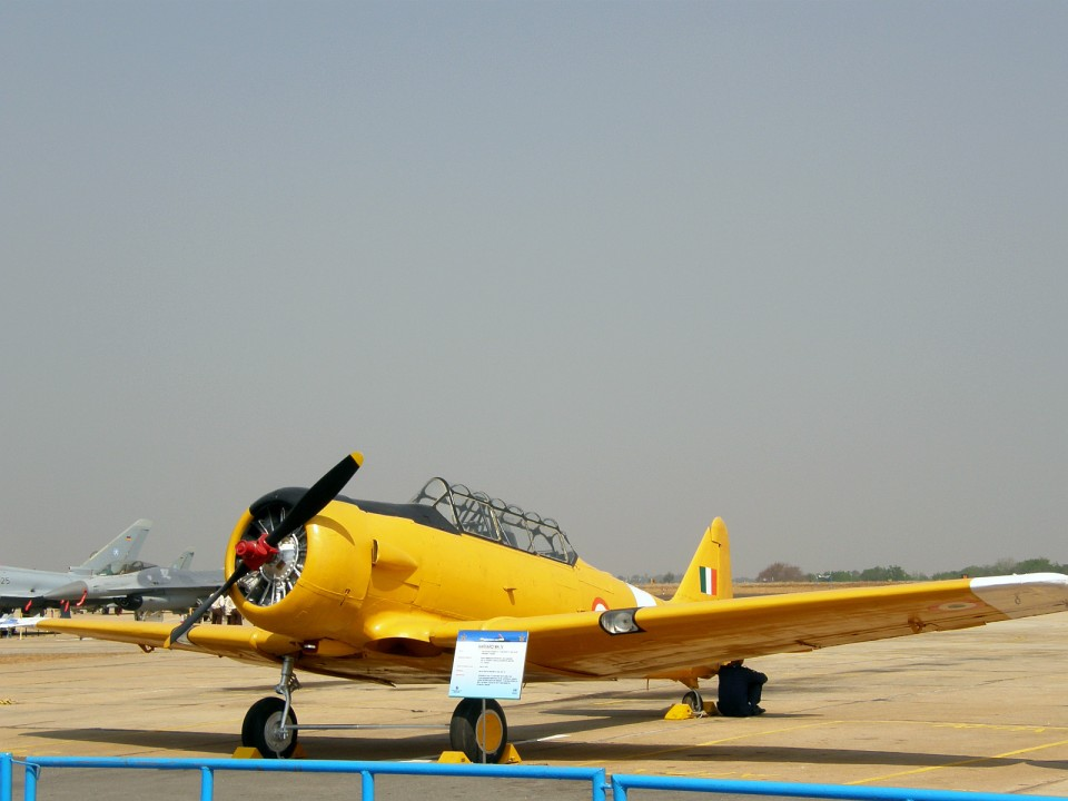 A Harvard Mk IV that once flew for the IAF - a filler