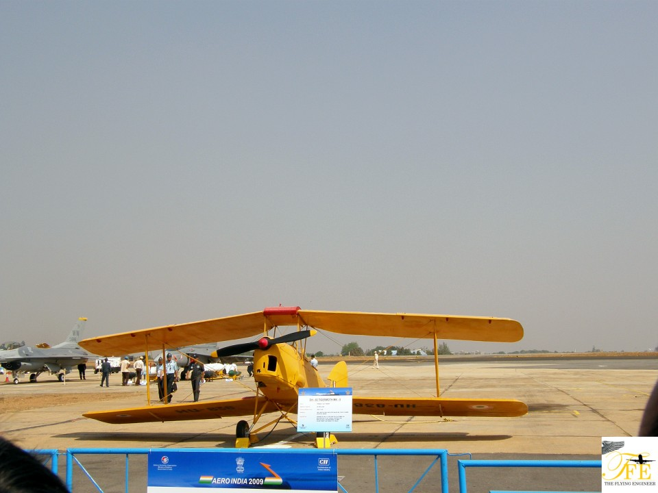 A DH-82 Tigermoth MK -II - a filler.