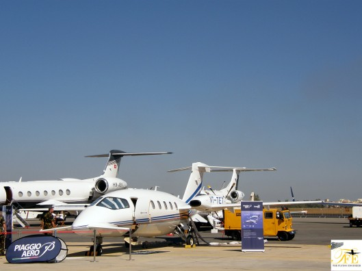 The wonderfully designed Piaggio Avanti P180 II