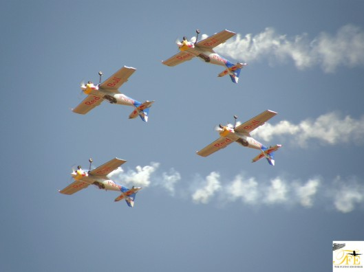 The Flying Bulls Aerobatic Team