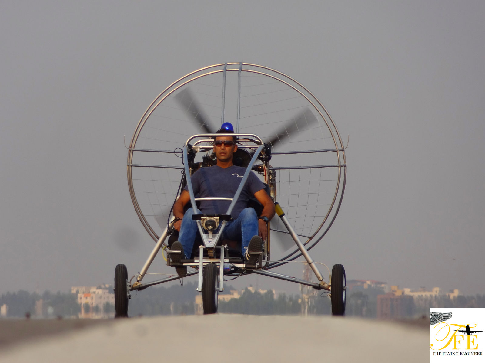 Powered Para Gliding! | The Flying Engineer