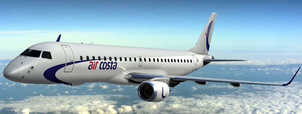 air costa s first embraer 190 the flying engineer rh theflyingengineer com Embraer E190 JetBlue Embraer E190 Interior