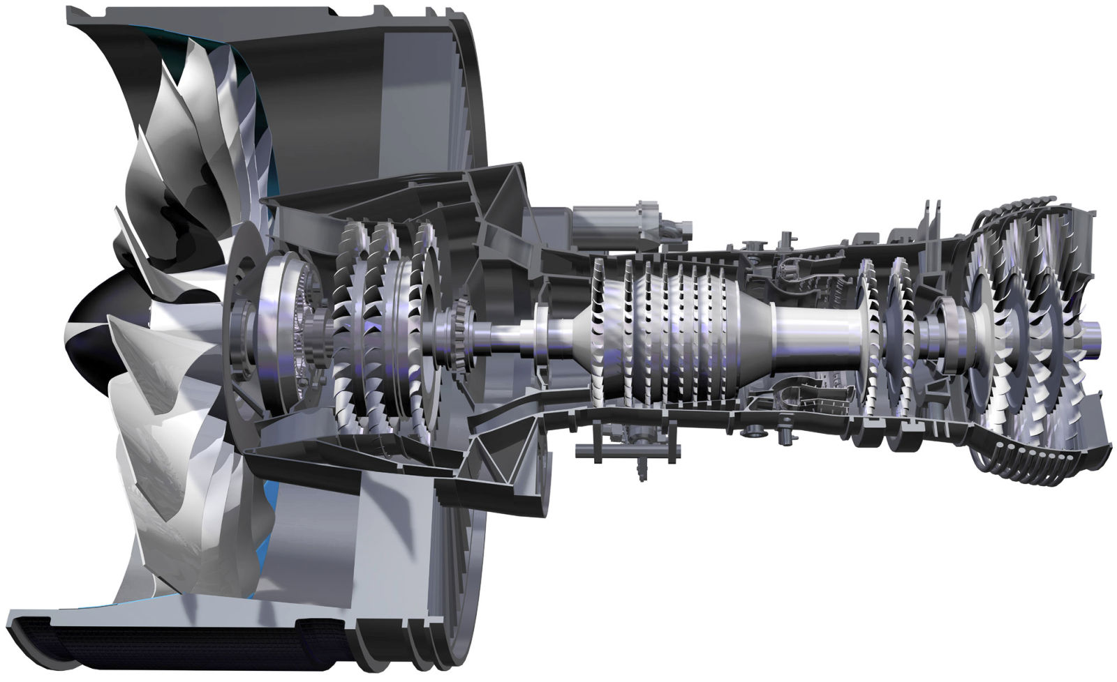 pratt and whitney pw1100g geared turbofan engine the flying engineer pw1100g cutaway