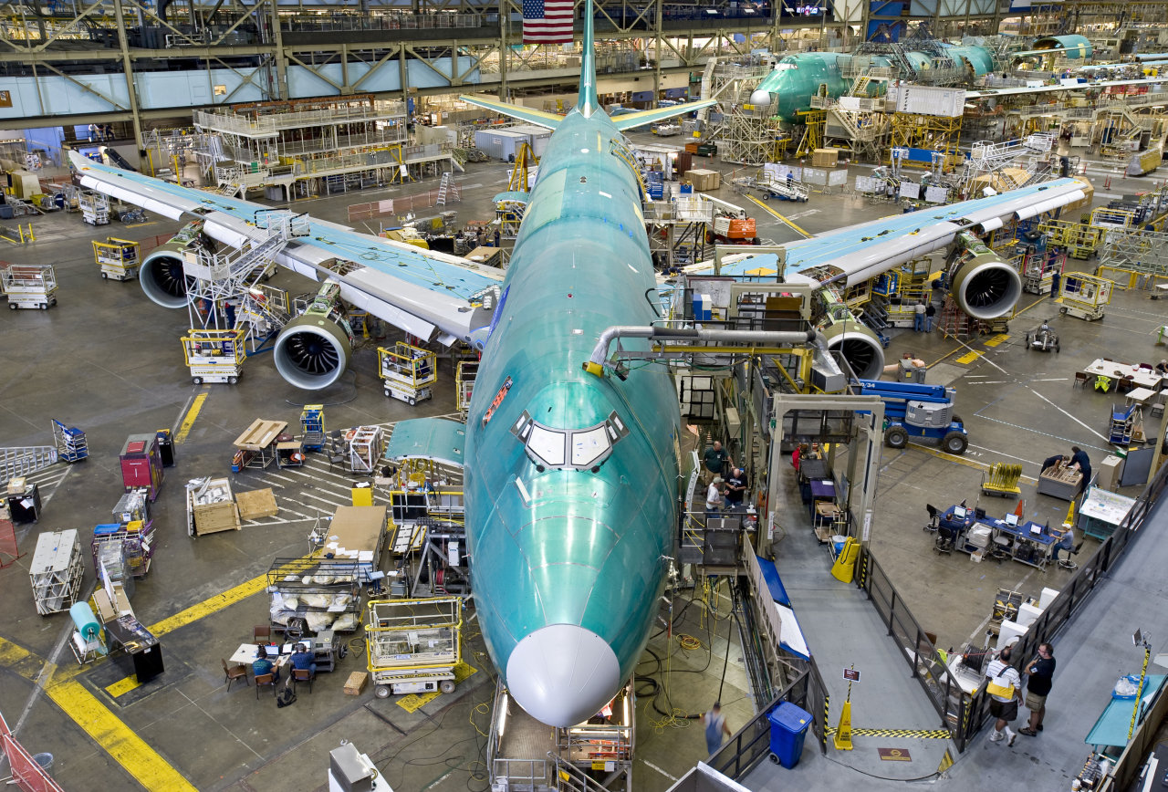 Boeing Scales Down 747 8 Production Rate The Flying Engineer