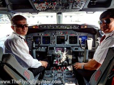 Capt. Bhuvnesh Kalra (Left) ad Captain Pankaj Saxena (Right)