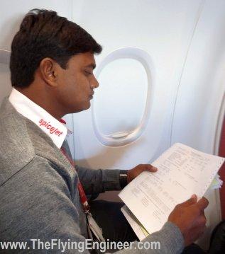 Raghu scanning the Load and Trim sheet