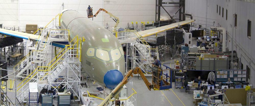 Resultado de imagen para Bombardier CSeries assembly Mirabel