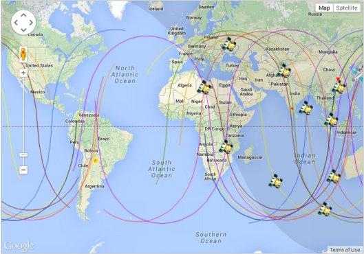 GPS Satellite Present 2145 09 JAN 2014