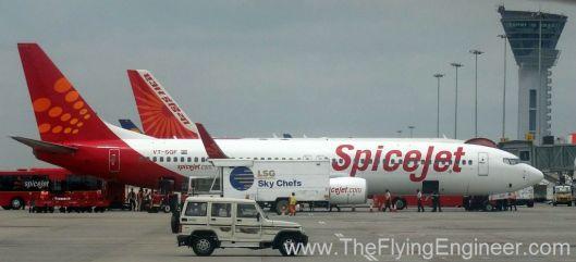 Spicejet VT_SGF 737