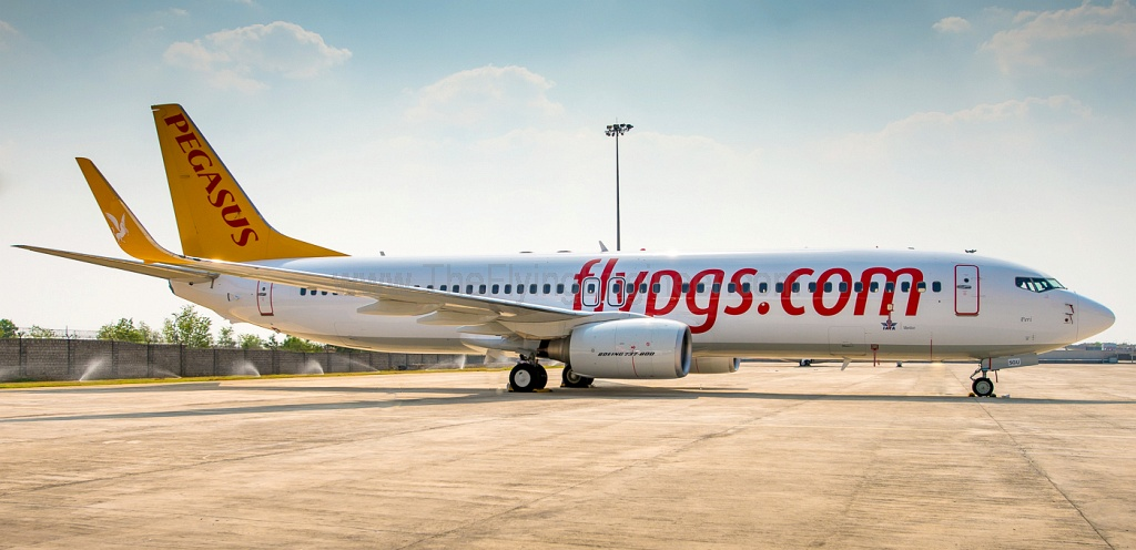 Spicejet S Bbam Boeing 737 800 Goes To Pegasus Airlines