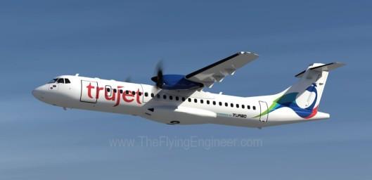 TruJet_ATR72_CGI
