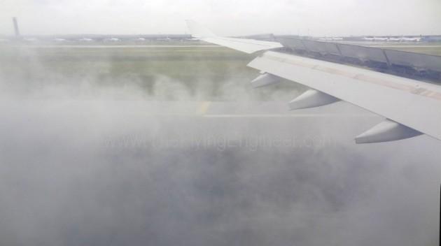 A330 Reverser Spray