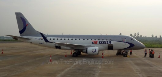 Air Costa VT-LNR Embraer E170