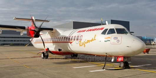 ATR 72 VT AII Air India Regional Alliance Air Avation Lease