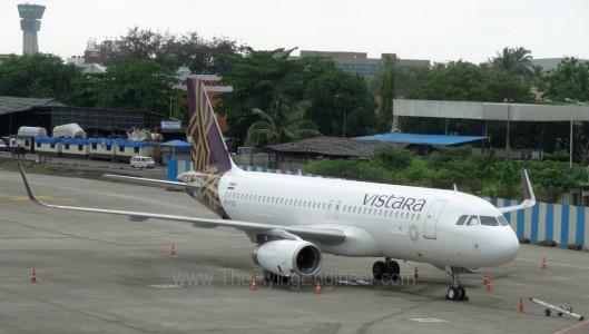 Vistara A320 VTTTG VABB