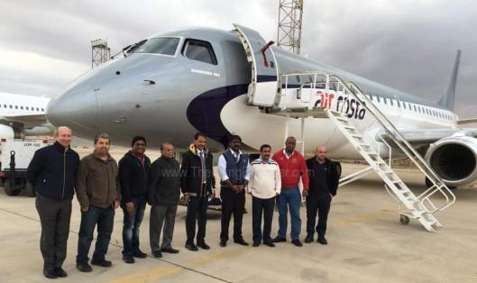 Air Costa E190 third aircraft